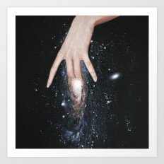 feasting fingers in cosmos